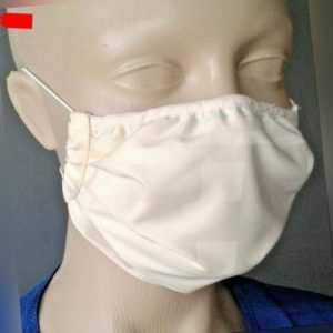 Mund-Nasen-Maske waschbar zweilagig wiederverwendbar Made in Germany (PF)