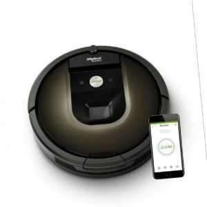 iRobot Roomba 980 Saugroboter Teppich-Turbomodus Alexa Staubsauger Roboter Wlan