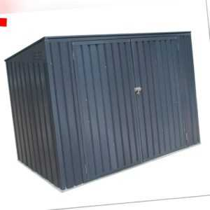 Mülltonnenbox Gerätebox 7x3 Geräteschuppen Gartenbox 3er Verkleidung Westmann