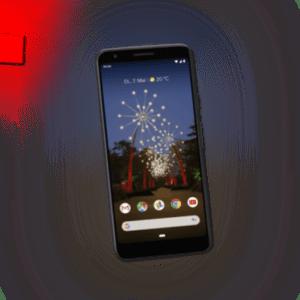 GOOGLE Pixel 3a, 64 GB, Just Black NEU & OVP