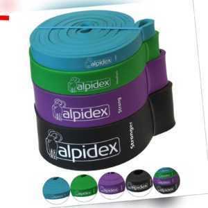 ALPIDEX Widerstandsband Set Bänder Fitnessbänder Widerstandsbänder Gymnastikband