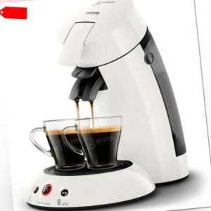 PHILIPS Original Senseo HD6554/10 Kaffeepadmaschine weiß 1450 Watt