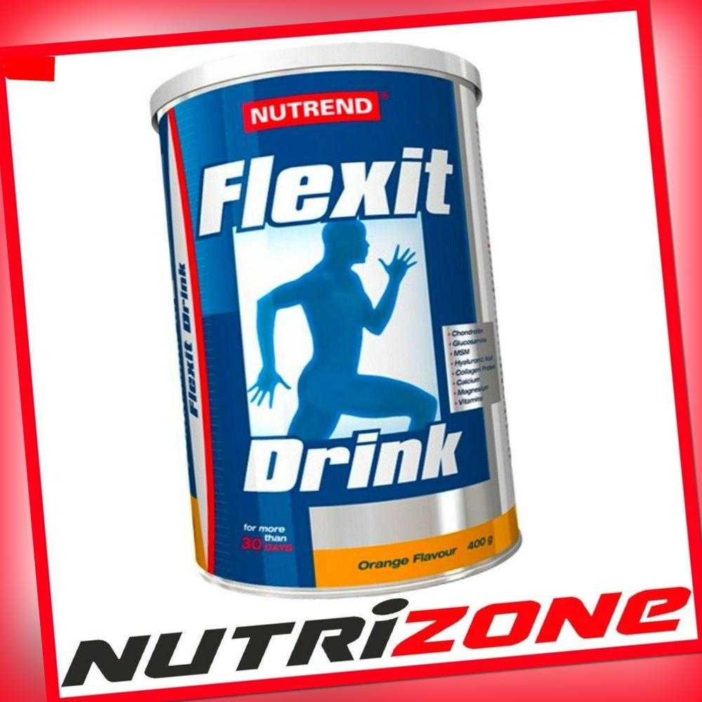 NUTREND FLEXIT Joints Bones Support Glucosamine Collagen Calcium Vitamin C D3