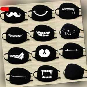 Alltagsmaske Behelfsmundschutz Mund-Nasen-Maske Staubmaske Maske Gesicht