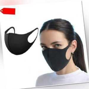 Mundmaske Mundschutz Gesichtmaske Behelfsmaske Schutzmaske Atemschutz *waschbar*