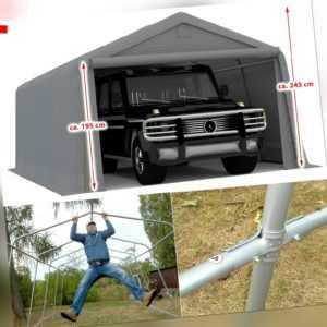 Garage Mobiler Stahl Carport ZELTGARAGE