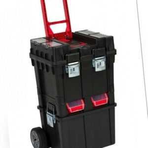 XL Werkstattwagen Rollbox Werkzeugkoffer Mobile Werkstatt Werkzeugwagen Metall