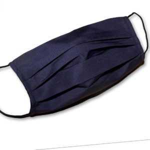 Bequeme Alltagsmaske Behelfsmaske Textilmaske, 3-schichtig, waschbar Mundschutz