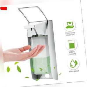 Eurospender Wand Seifenspender Desinfektionsmittelspender 1000 ml Aluminium TOP
