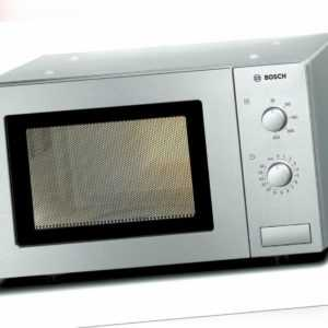 Bosch HMT72M450 Mikrowelle Serie 2 Freistehend Edelstahl Neu