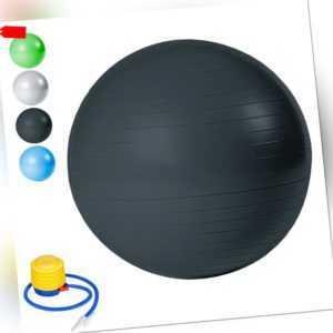 300kg Belastbarkeit 65cm 75cm 85cm Beine Berstsicher Gymnastikball mit Luftpumpe