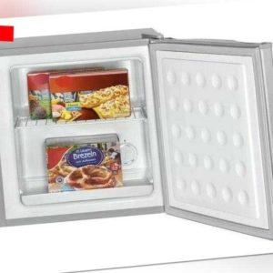 BOMANN Gefrierbox GB 341 A++ silber Mini Tiefkühlschrank...