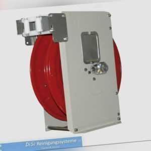 Hochdruckreiniger Stahl Schlauchaufroller Schlauchtrommel Automatik