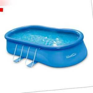 Pool Swimmingpool 549x305 cm Aufstellpool Aufblasbar Schwimmbad Summer Waves
