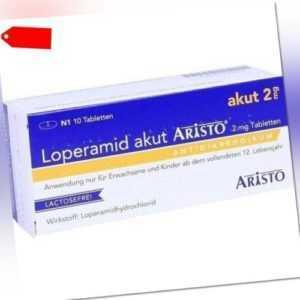 LOPERAMID akut Aristo 2 mg Tabletten 10 St 07756497
