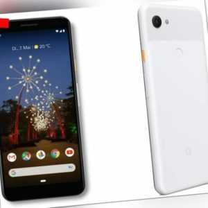 Google Pixel 3a 4GB/64GB Smartphone - Clearly White - Nagelneu Versiegelt