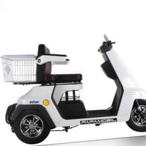 Eycos Papamobil weiß Seniorenmobil Elektroroller Elektromobil Rollstuhl 20 km/h
