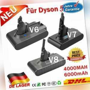 4,0AH 6.0AH 21.6V Li-Ion Akku Batterie Für Dyson V8 V7 V6 Vakuum Handstaubsauger