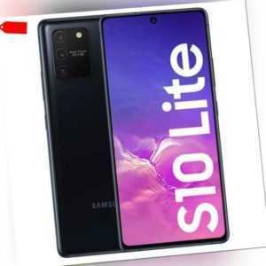 Samsung Galaxy S10 lite - 128GB - Prism Black - Schwarz (Ohne...
