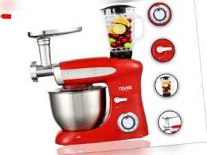 3in1 Küchenmaschine StandMixer Ice Crusher Fleischwolf Teigkneter...
