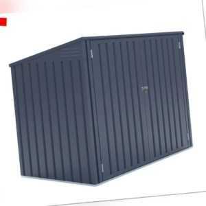 Mülltonnenbox Gerätebox 5x3 Geräteschuppen Gartenbox 2er Verkleidung Westmann