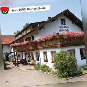 8 Tage Urlaub im Hotel Seeblick in Obing im Chiemgau mit Halbpension