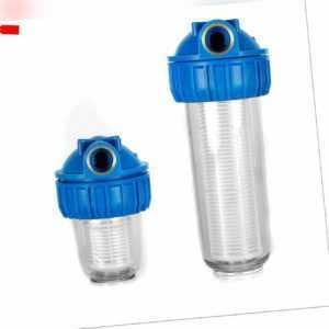 """1"""" 3000 L und 1"""" 4000 L Wasserfilter Vorfilter Hauswasserwerk Pumpen Vorfilter"""