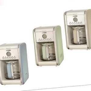 Ariete Kaffeemaschine Vintage Retro 1,5L Filterkaffeemaschine...