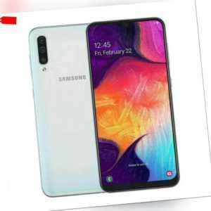 Samsung Galaxy A50 Dual Sim Smartphone 128GB Weiß White - TOP!