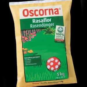 Oscorna Rasaflor Rasendünger 5 kg Naturdünger Langzeitdünger NPK organisch BIO
