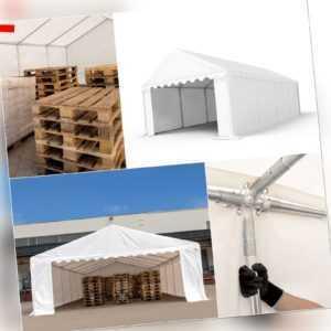 Lagerzelt 3x2 - 6x12m Zelthalle Weidezelt Unterstand Zelt 500g/m² PVC NEU