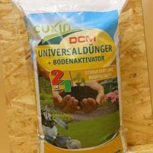 Cuxin Universaldünger + Bodenaktivator 10,5 kg organisch Volldünger Gartendünger