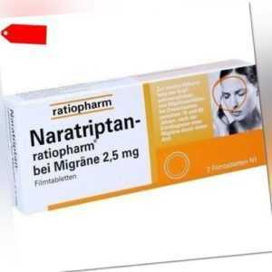 NARATRIPTAN-ratiopharm bei Migräne Filmtabletten 2 St 09321616