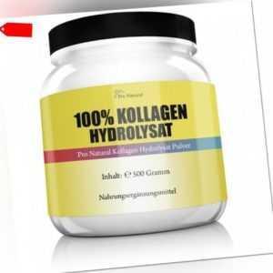 Pro Natural, 100% Kollagen Hydrolysat für Gelenke, 500g - Blitzversand