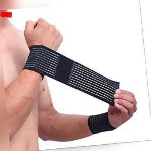 Elastische Handgelenkbandage flexible Kompression Sport Heilung atmungsaktiv
