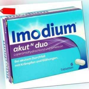 IMODIUM akut N duo Tabletten 6 St 07628552