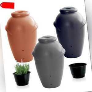 Regentonne Regenwassertonne Regenbehälter Regenfass Wassertank 210L 3 Farben