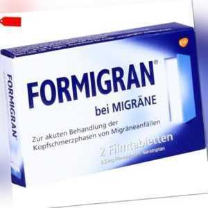 FORMIGRAN Filmtabletten   2 st   PZN 2195485