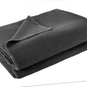 Zoeppritz Wohndecke Soft-Fleece | 960 anthracite mel. - 160 x 200