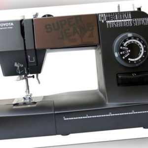 TOYOTA Super J34 Nähmaschine Super Jeans 34 Stichprogramme  RO_Super J34_K