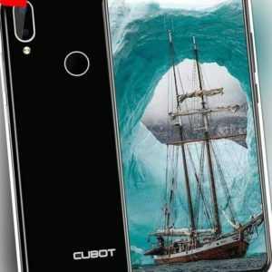 Cubot R19 4G 32GB 3GB RAM Dual-SIM Schwarz Entsichertes Smartphone