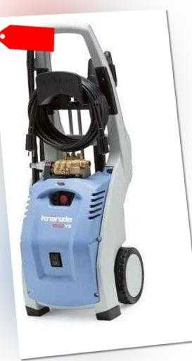Kränzle K 1050 TS Hochdruckreiniger mit Schmutzkiller 495051