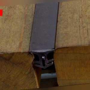 Fugenband für Terrassendielen Fugendichtung Dichtband 5-7 & 7-10 mm 2 Rollen 50m