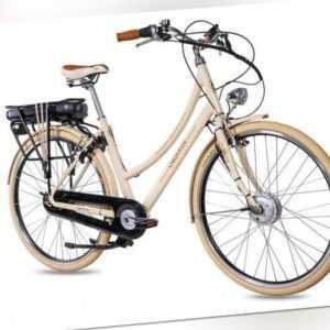28 Zoll Elektrofahrrad E-Bike Citybike Damenrad CHRISSON EH1 Pedelec 7G SHIMANO
