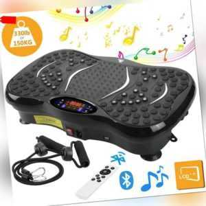 3D Vibrationsplatte Platt 5 Programme 55dB Bluetooth Ganzkörper Trainingsgerät