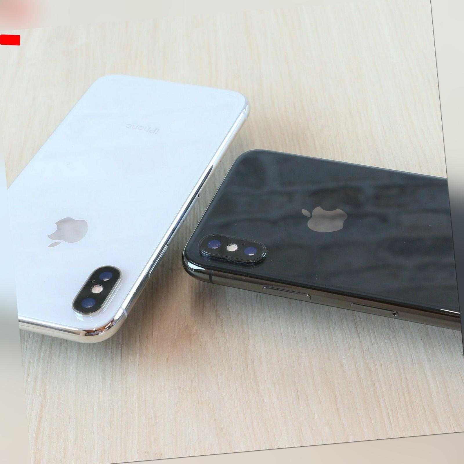 Apple IPhone X 64GB 256GB Grau Schwarz Silber TOP Zustand