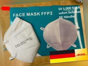 10-1000 Stück Atemschutzmaske KN95 FFP2 CE Schutzmaske Atemmaske Atemschutz