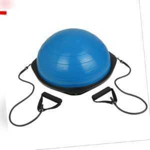 Balance Ball Gymnastikball balancieren mit Expandern & Pumpe Balance Board
