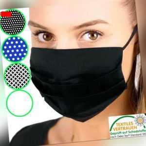 COMMUNITY MASKE Mundschutz Stoffmaske waschbar 100% Baumwolle Behelfsmaske