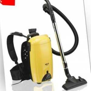 Rucksack-Staubsauger Melissa 16420275 Rücken-Sauger für Boden, Decke und Wand